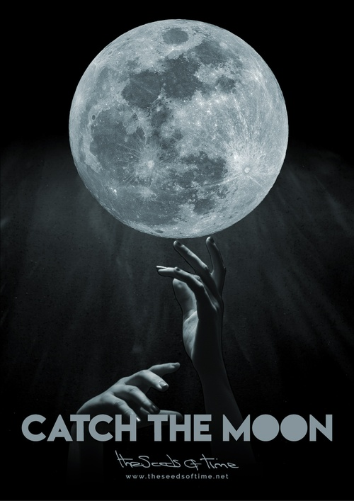 Poster art for song 'Catch the Moon II' from album titled Spirit